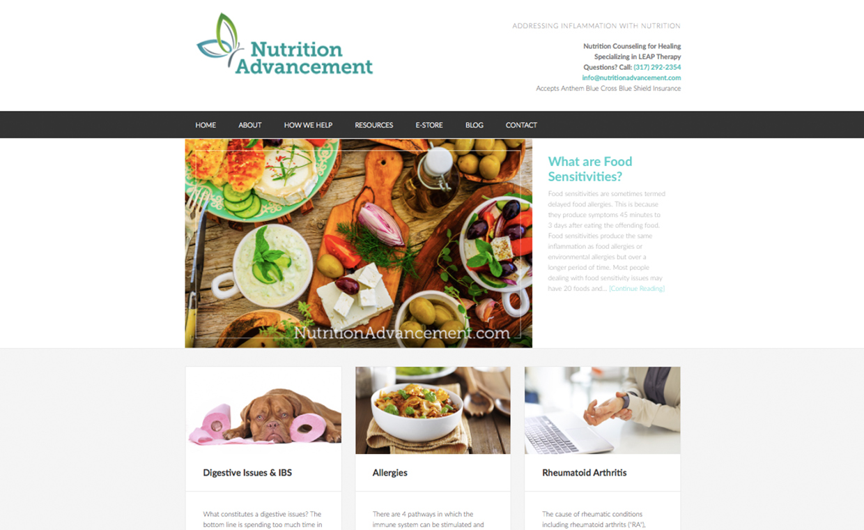Nutrition Advancement | Imperative Co  Marketing